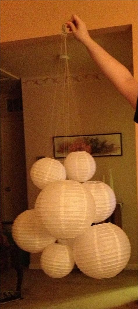 Paper Lantern Chandelier 1000 Ideas About Paper Lantern Chandelier On Pinterest Lanterns Asian Lighting And