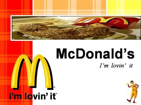 mcdonald ppt presentation authorstream