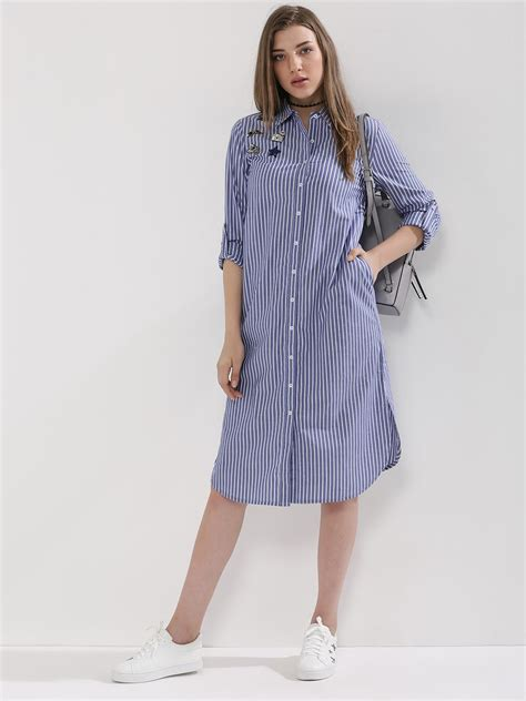 Shirt Dress by Buy Patch Shirt Dress For S Blue