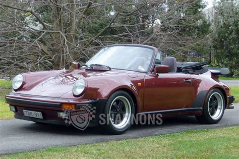 widebody porsche 911 porsche 911 carrera 3 2 wide body cabriolet auctions