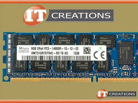 Ddr3 16gb Pc12800r Ecc Registered Hynix sk hynix 8gb pc3 14900r ddr3 1866 registered ecc memory module hmt31gr7efr4c rd ebay
