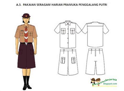 Seragam Pramuka Seragam Sekolah Baju Penegak Pi No 18 contoh model seragam pramuka penggalang putri 2012 pramuka