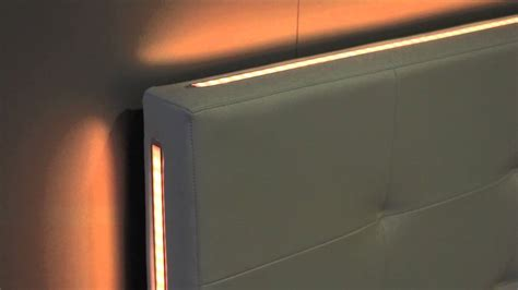 letto con led letto testata letto led wall con led rgb