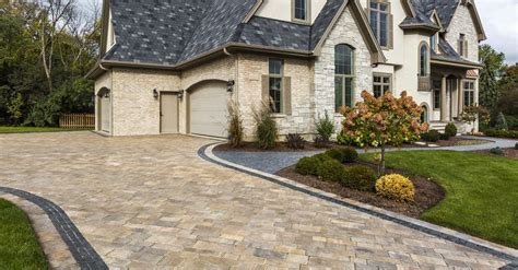 red hill design toronto stunning paver combinations for your toronto driveway