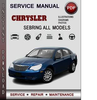 online car repair manuals free 2006 chrysler sebring navigation system service manual 1999 chrysler sebring workshop manuals free pdf download service manual 2006