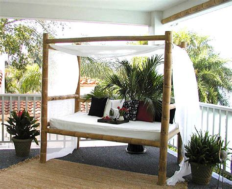 Daybed With Canopy 20 Fascinating Bamboo Canopy Beds And Daybeds Home Design Lover
