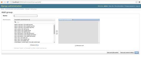 creating django user set up django users and integrate permission management