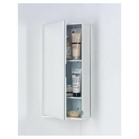 Buy Corner Bathroom Mirror Cabinet Buy Southwold White Wood Corner Mirror Cabinet From Our