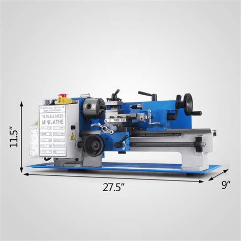 7 x 12 bench top lathe 7 quot x12 quot mini metal lathe metalworking woodworking bench top