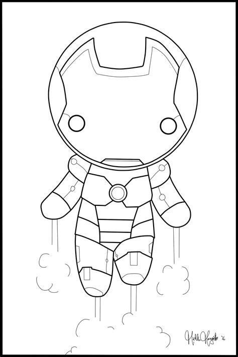 Chibi Iron Man Coloring Page By Kitty Stark On Deviantart | chibi iron man coloring page by kitty stark on deviantart