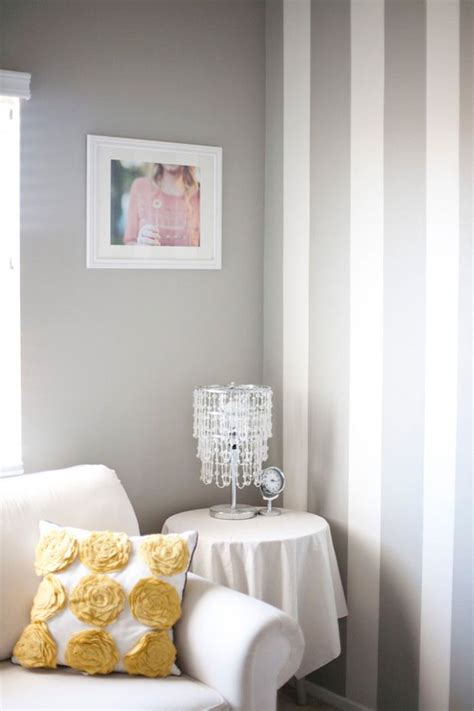 grey and white striped bedroom best 25 grey striped walls ideas on pinterest gold