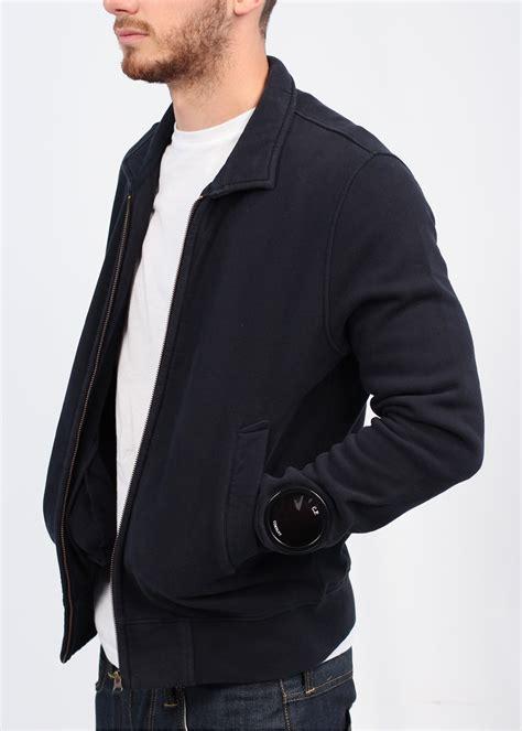 Cp Hoodie Wing Lt Sweater Babyterry cp company zip jacket navy