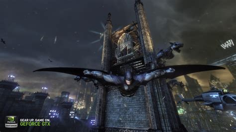 Arkham City batman arkham city geforce