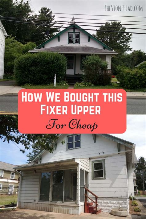 How To Find A Cheap House To Buy How We Stole Fixer Upper 2