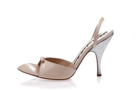 Blush Pink Wedding Shoes by Rochas Wedding Shoes Classic Blush Pink With Silver