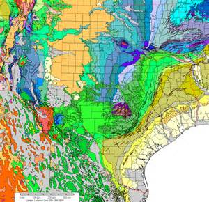 Elevation Tx Gravity And Magnetic Maps Of And Oklahoma