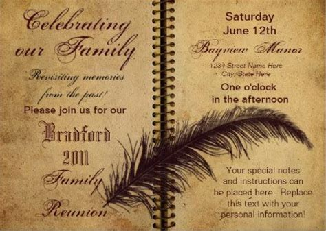 lets get the family together classic and elegant 21 best images about family reunion invitations on