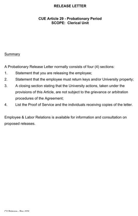Emd Release Letter Format release letter sle for free formtemplate