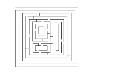 How To Make A Maze On Paper - how to draw a maze 9 steps with pictures