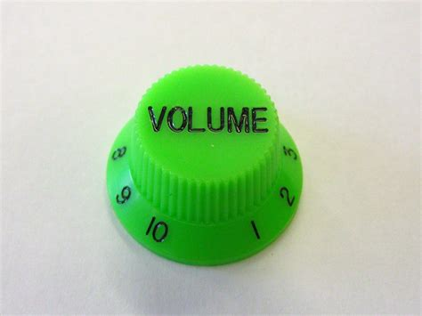 Volume Knobs by Volume Knob Fender Strat Etc Green Cd0154gr