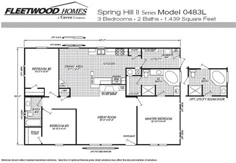 fleetwood mobile home floor plans beautiful fleetwood mobile homes floor plans new home