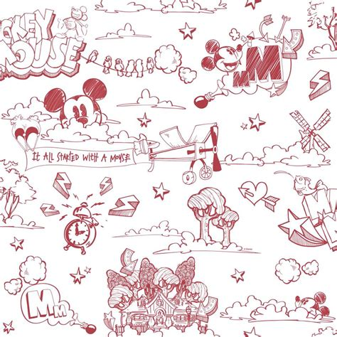 disney wallpaper black and white new official disney mickey mouse pattern pencil cartoon