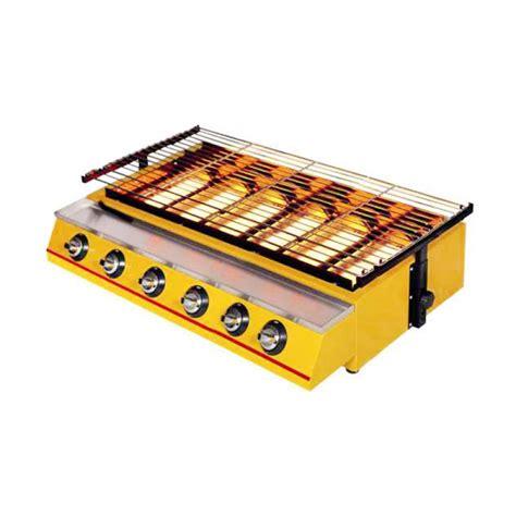 Alat Pemanggang Gas Jual Getra Et K333 6 Burner Bbq Gas Alat Pemanggang