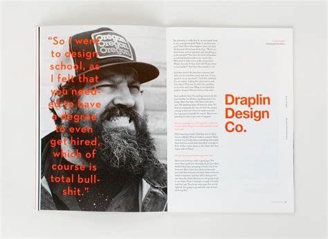 online magazine layout exles editorial design inspiration 99u quarterly mag no 6