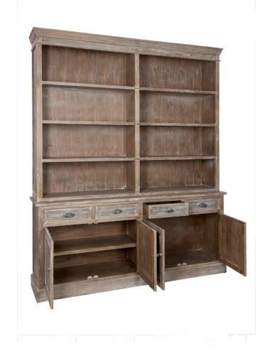 librerie legno naturale armadio libreria legno naturale mobili provenzali on line