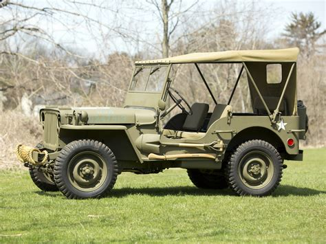 1942 Ford Jeep 1942 Ford Gpw 4x4 Offroad Wallpaper 2048x1536