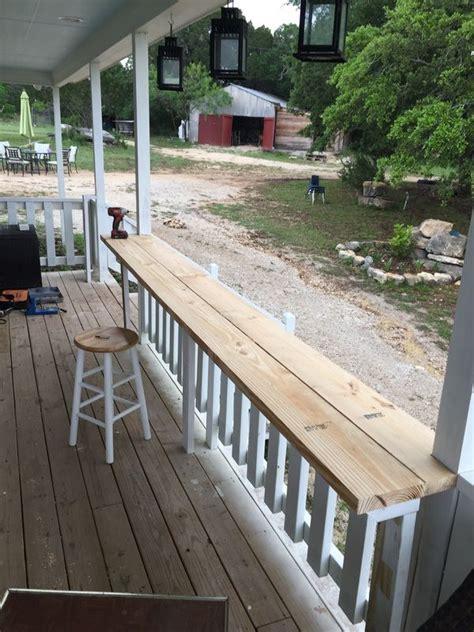 deck railing bar top best 25 porch railings ideas on pinterest front porch