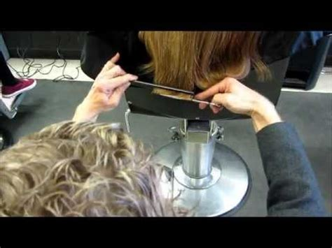 cut and inch off hair 2 inches cut off long hair lovely lona s haircut video