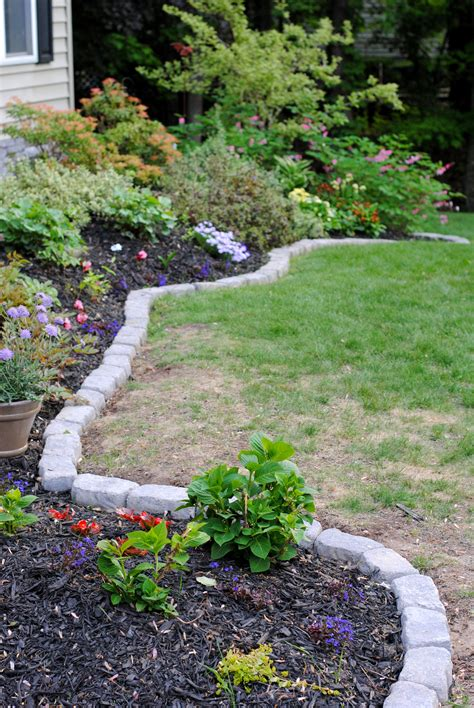 Rocks For Garden Borders The Border For Your Beds Burger