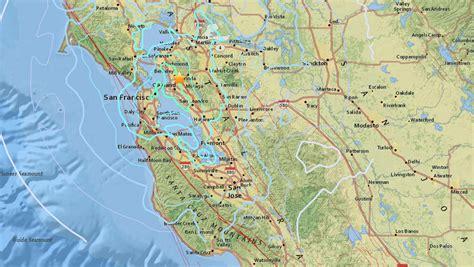 Earthquake California Bay Area | magnitude 4 4 quake shakes sleeping bay area nbc 6 south