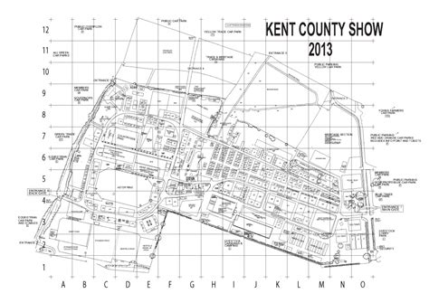 kent county section 8 trade stand map kent county show