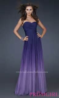 la femme gowns for prom purple gown ombre ombre dress