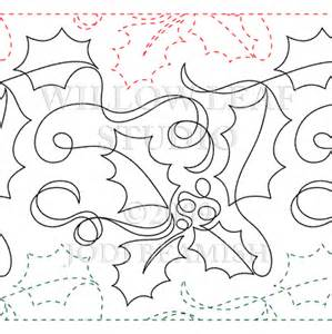 free arm quilting pantographs ho ho by