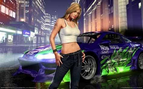 Need For Speed NFS Amazing Racing Cars With Ladies Sexy Cars Hot BAbes Woman Girl