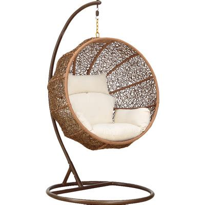 swingasan chair reviews ceets zolo swing chair with stand reviews wayfair