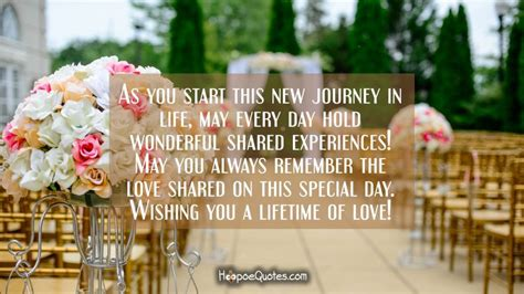 start   journey  life   day hold wonderful shared experiences