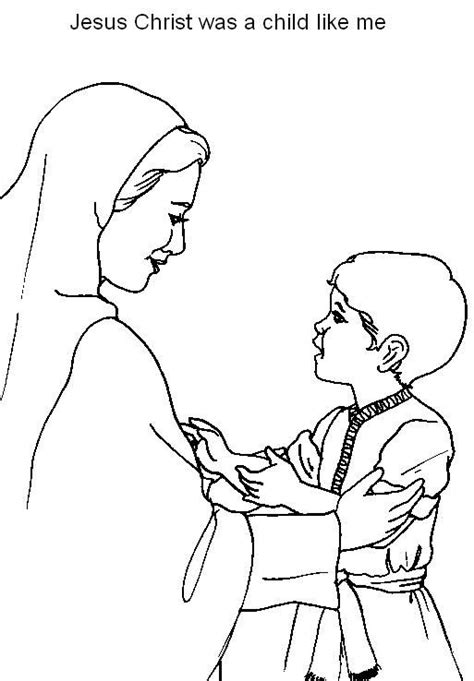 coloring page boy jesus jesus coloring pages and coloring on pinterest