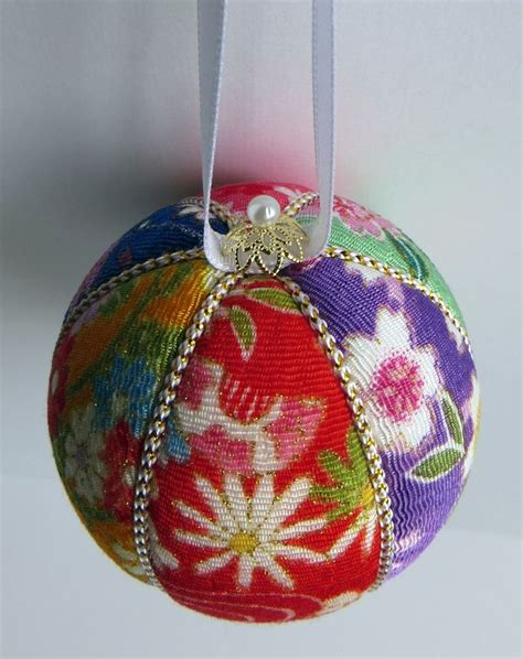 japanese craft for christmas 61 best kimekomi ornament balls images on crafts ornaments and