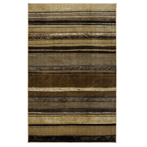 Rainbow Area Rug Mohawk Home Rainbow Neutral 5 Ft X 8 Ft Area Rug 521424 The Home Depot