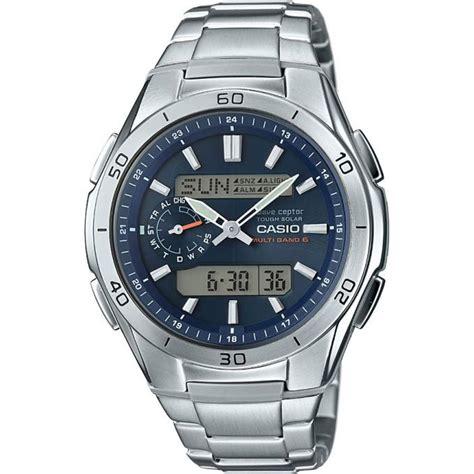 montre casio waveceptor wva m650d 2aer montre digital acier homme sur bijourama montre homme