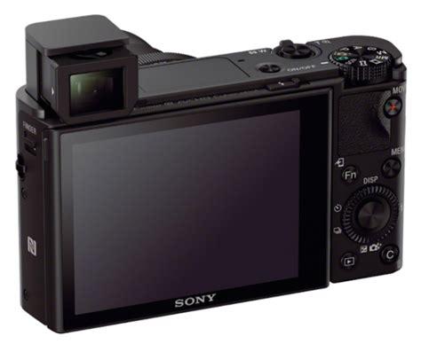 Sony Rx100 M3 sony rx100 m3 acum cu vizor electronic pop up si un nou