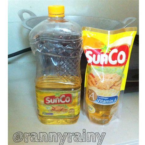 Minyak Goreng Sunco Sunco hidup sehat dengan pilihan tepat hujanpelangi