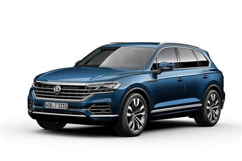 volkswagen touareg blue 2019 volkswagen touareg blue front quarter autobics