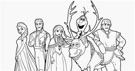gambar frozen elsa  anna kartun animasi