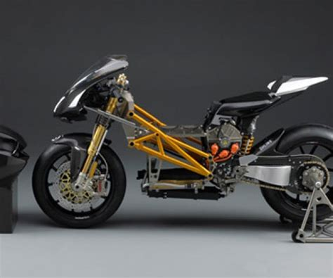 Elektro Rennmotorrad by Mission R Electric Racing Motorcycle Stripped
