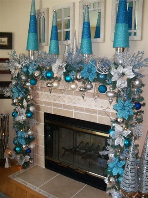 blue christmas decor ideas   inspired feed